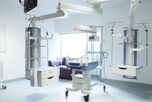 Flamingo Ward intensive care equipment