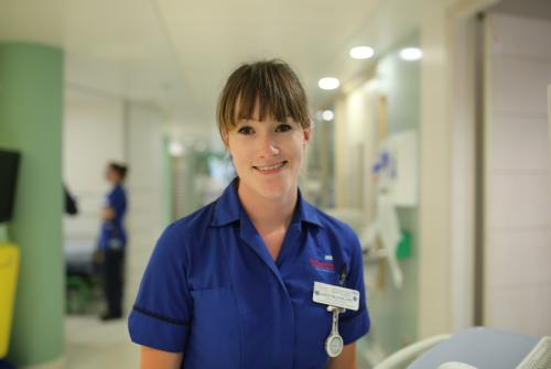 Sarah, Senior Staff Nurse on Bumblebee Ward