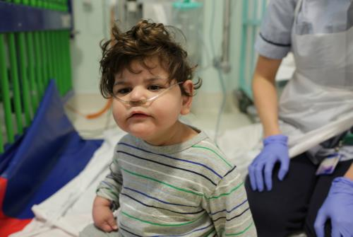Mohammed at GOSH